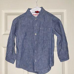 Baby Gap Boys Chambray Shirt size 5